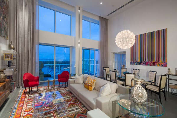 Grand Venetian penthoue for Louise Sunshine photo by Robin Hill (c) HI RES (11)