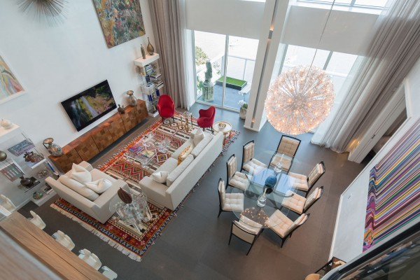 Grand Venetian penthoue for Louise Sunshine photo by Robin Hill (c) HI RES (51)